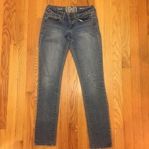 SO Authentic Jeans. Regular Skinny. Size 1
